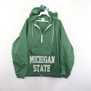 80s Mens Small Michigan State Spartans Jacket